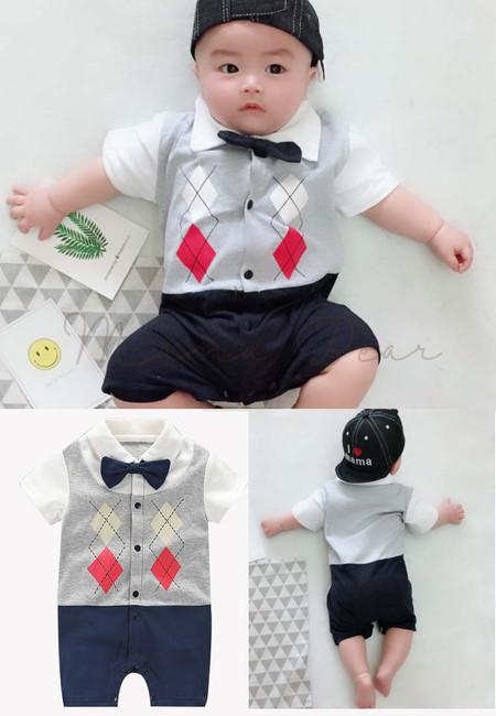 Baby Boy Casual Bodysuit