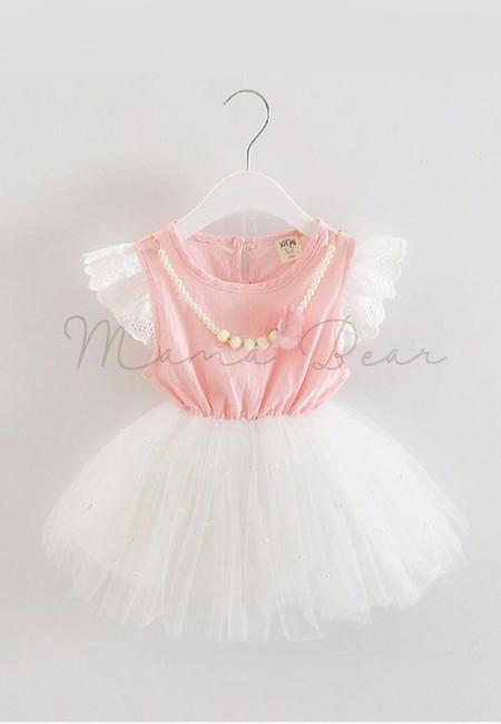 Sweet Pearl Fancy Kids Dress