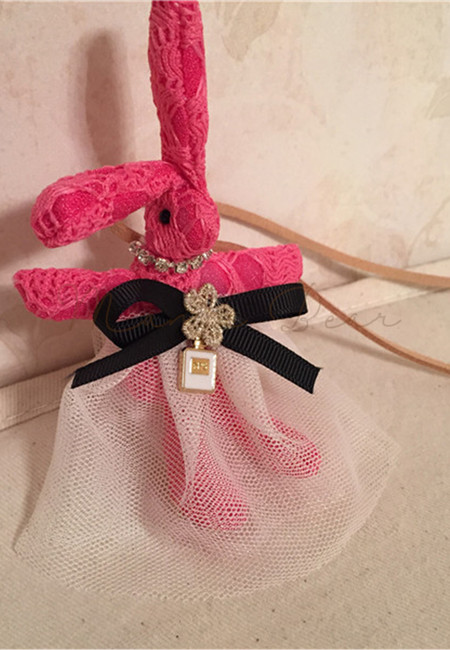Cute Fancy Rabbit Kids Necklace