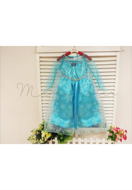 Princess Elsa Mesh Kid Costume