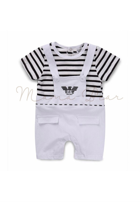 Eagle Stripes Babysuit