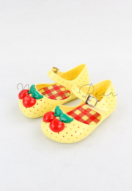 Cherry Kid Scented Jelly Shoes