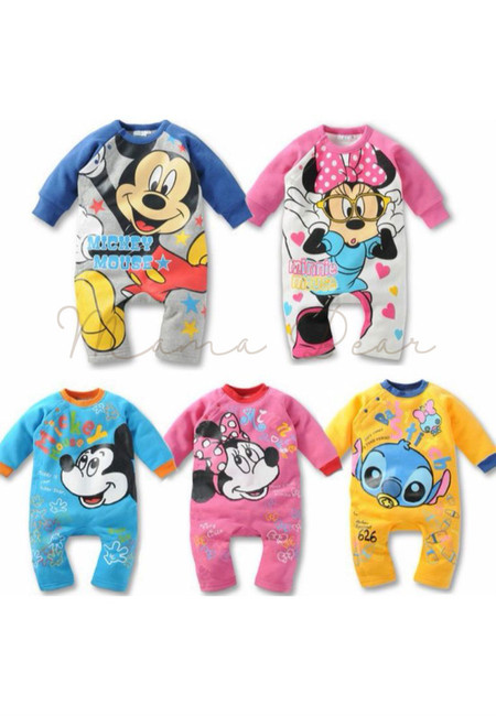 Disney Character Kids Jumpsuit