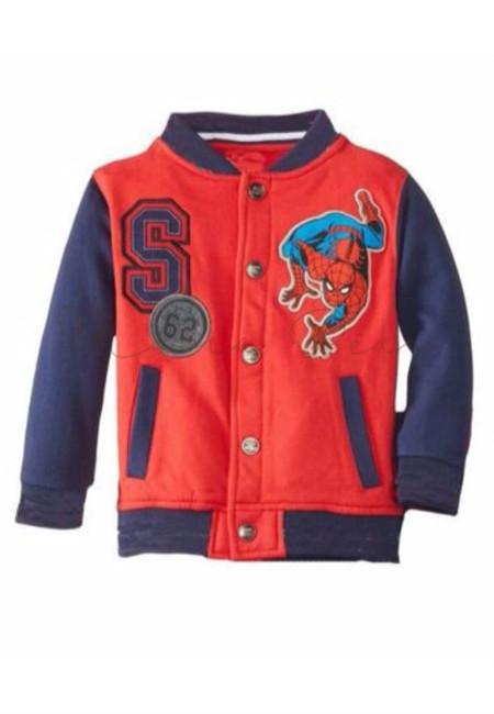 Spiderman Print Kids Jacket
