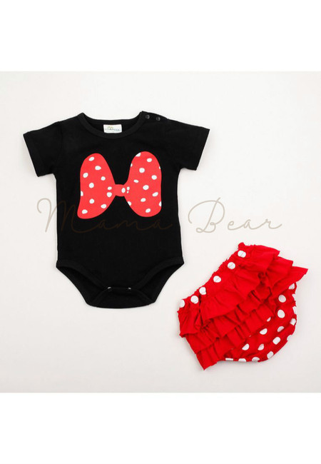 Mickey or Minnie Kids Clothing Set