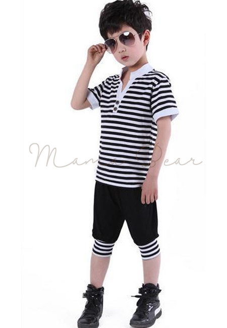 Kid Gentleman Stripes Set