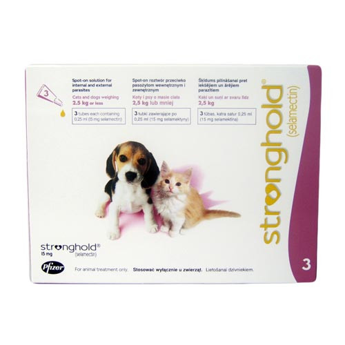 Stronghold for Puppies & Kittens - 3 Pack