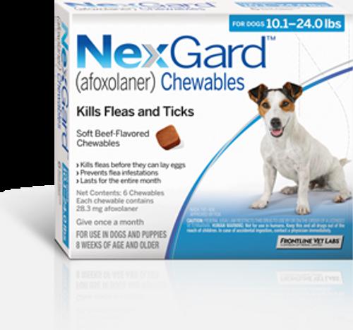 Nexgard for Dogs 10.1-24 lbs - 3 Pack