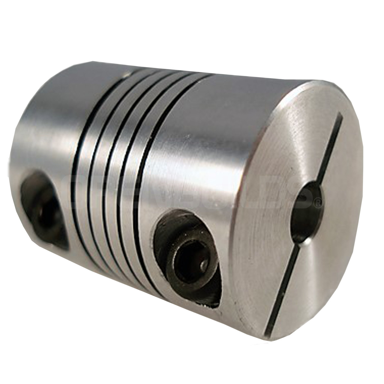 What Is Aluminum Used For >> 5mm * 8mm Flexible Coupling - OpenBuilds Part Store