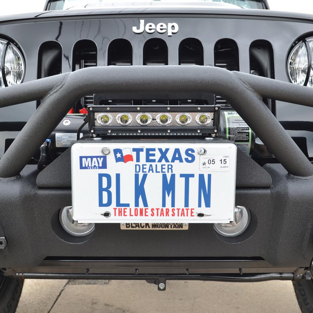 Flip-Up License Plate Hinge