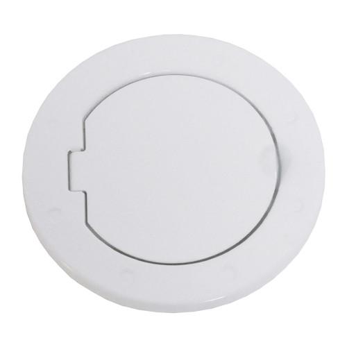 Fuel Door - White