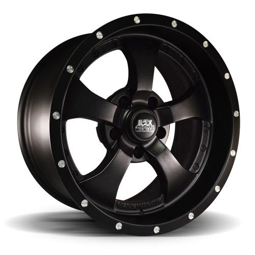 """Matte Black 17x9"""" Wheel"""