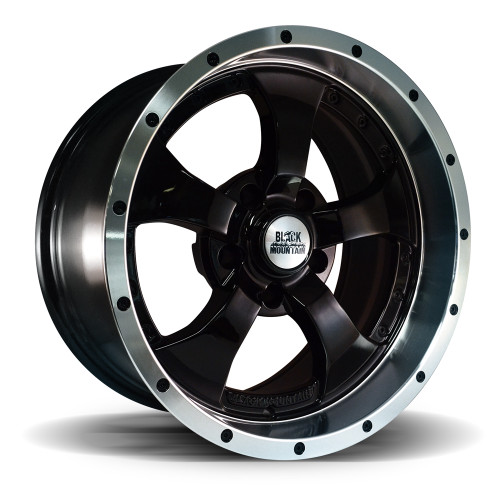 "Two-Tone Black 17x9"" Wheel"