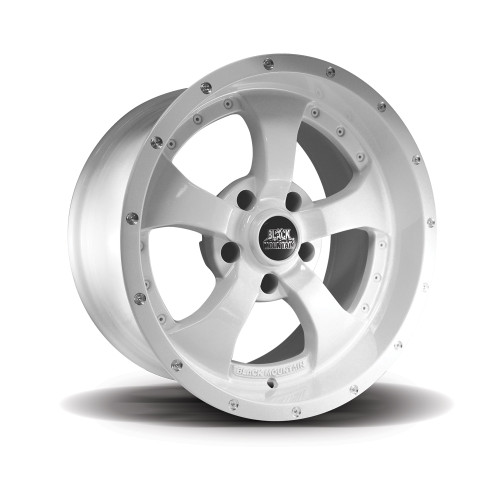 "Gloss White 17x9"" Wheel"