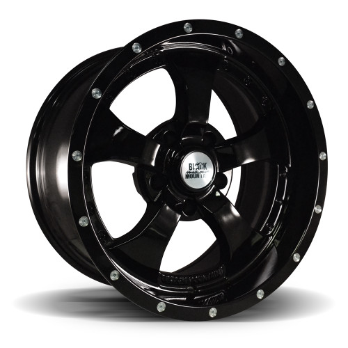 "Gloss Black 17x9"" Wheel"