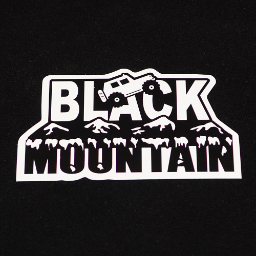 Black Mountain Logo 5x3 Die-Cut
