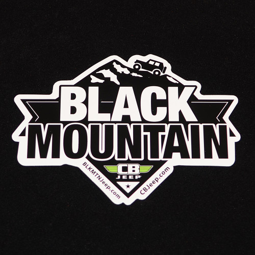 Black Mountain Peak 6x4 Die Cut