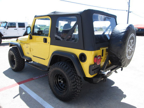 '87-'06 YJ/TJ Rear Rock Bumper w/Tire Carrier