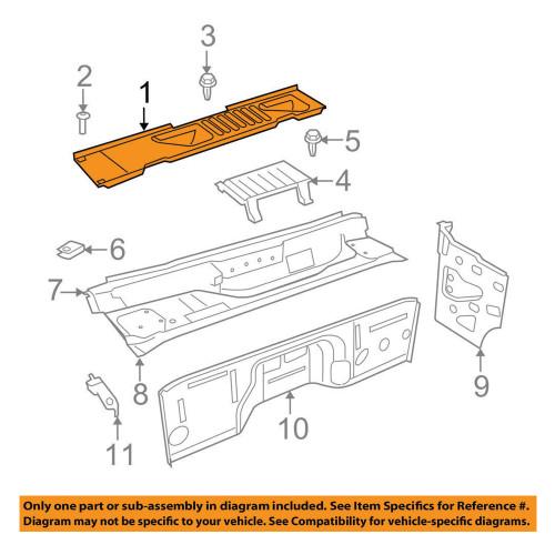 07-18 Jeep Wrangler JK OEM Cowl Panel