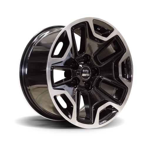 "RUBI-9 Gloss Black 17x9"" Alloy Wheel"