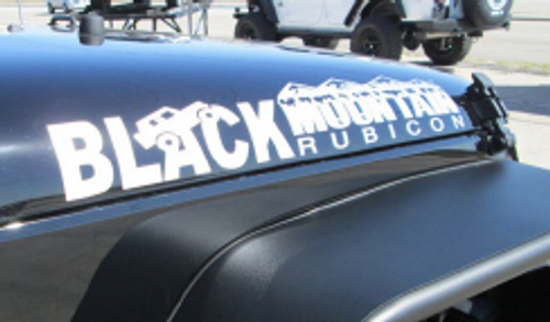 Black Mountain Rubicon Decal