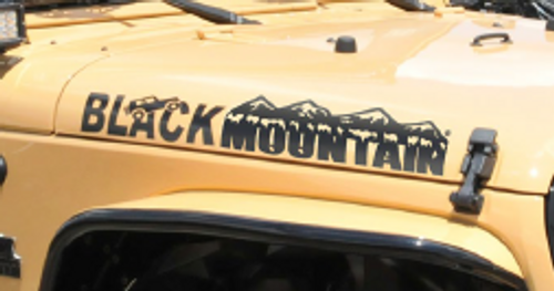 Black Mountain Hood Decal