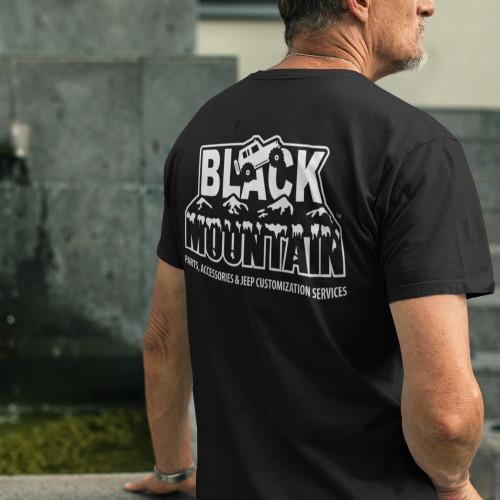 Black Mountain Logo Tee