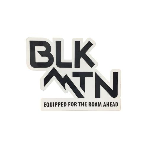 """4x3"""" BLKMTN Roam Ahead Sticker"""