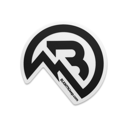 BLKMTN Icon Sticker Die Cut
