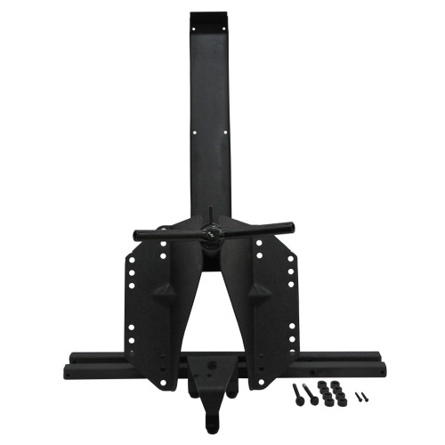 Heavy-Duty Tire Carrier unity with hardware.