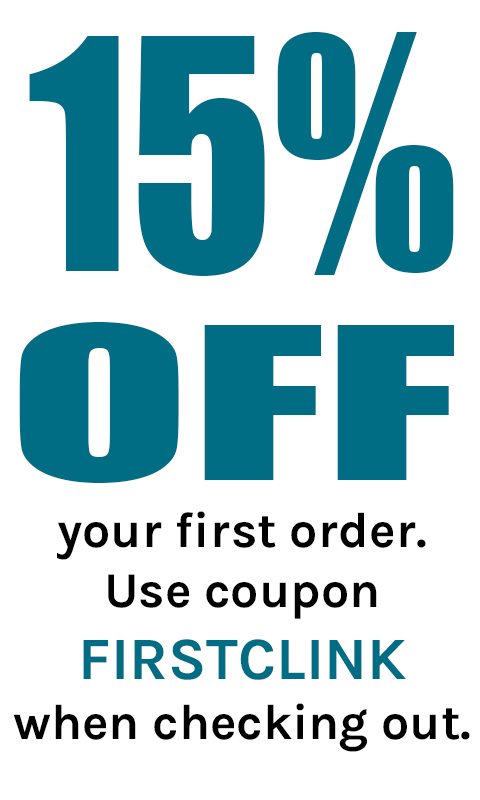 15% Off with code FIRSTCLINK