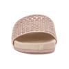 JSlides NAOMIE Rosegold Metallic Leather