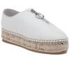 JSlides RYAN White Leather