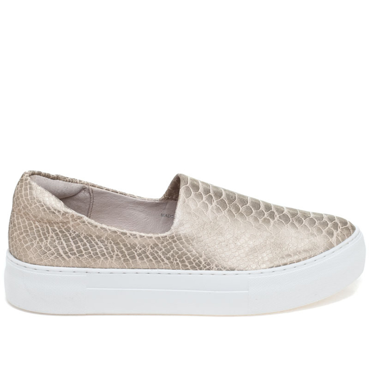 J Slides Ariana Metallic Snake Embossed Sneakers LcPsu3dwkA