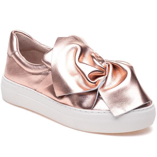 JSlides ANNABELLE Rose Gold Leather