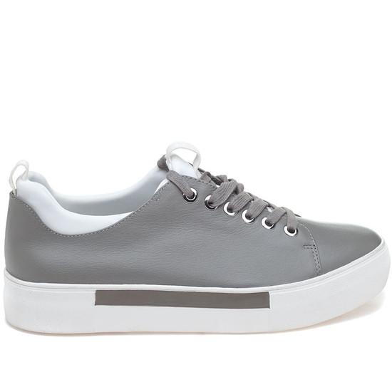 JSlides ARIEL Grey Leather