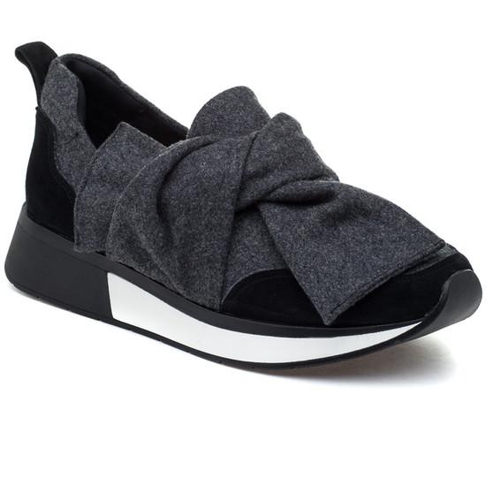JSlides KIM Black Grey Fabric