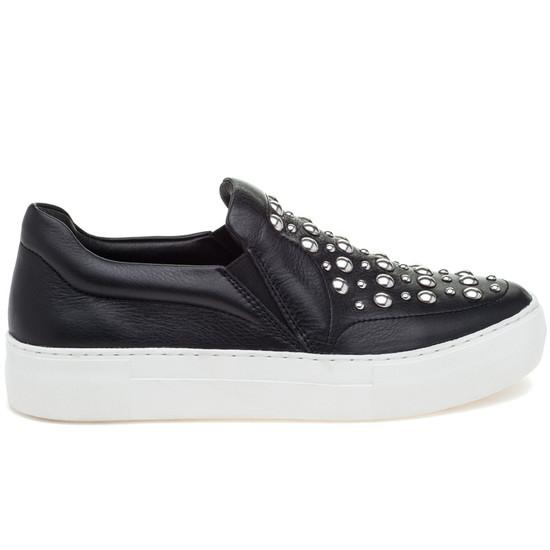 JSlides ATOM Black Leather