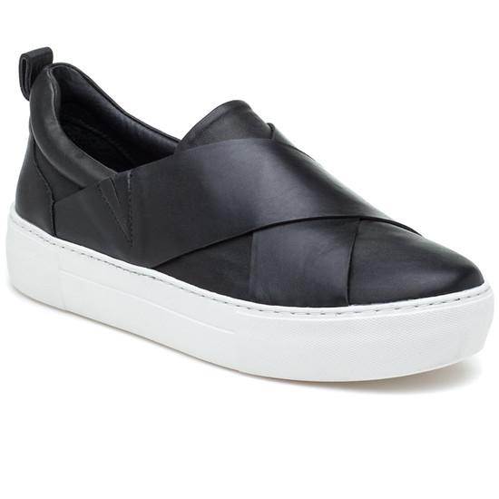 JSlides ALEC Black Leather