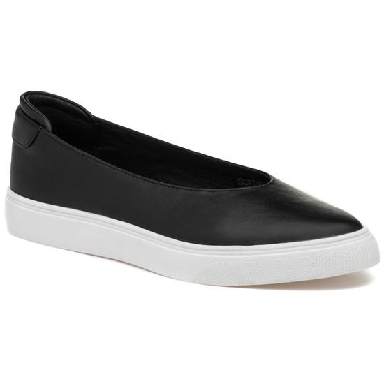 JSlides GWEN Black Leather