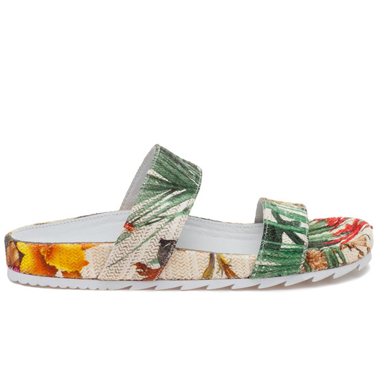 JSlides EDIE White Yellow Raffia