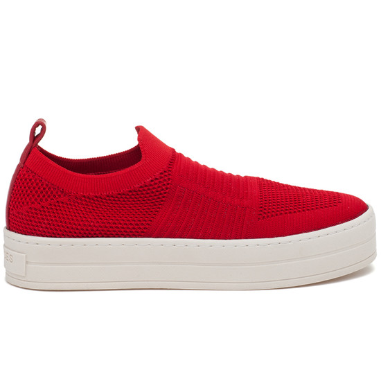 JSlides HILO Red Knit
