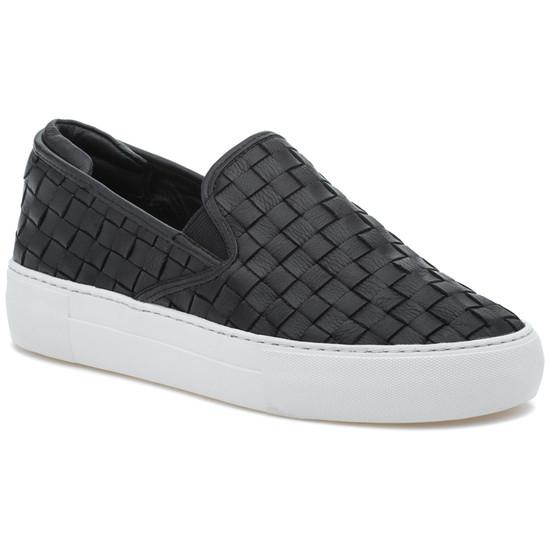 JSlides PROPER Black Leather