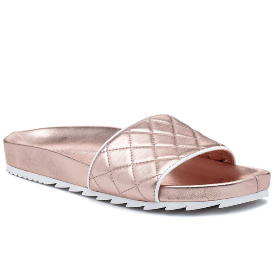 JSlides EDGE Rose Gold Leather