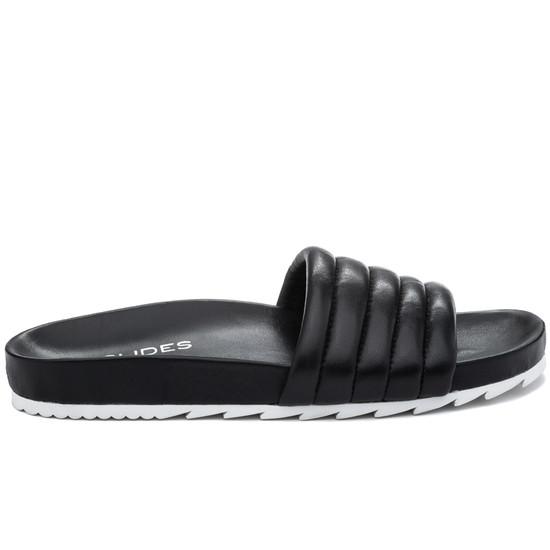 JSlides EPPIE Black Leather