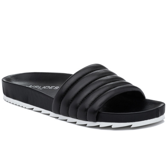 JSlides EPPIE Black Leather