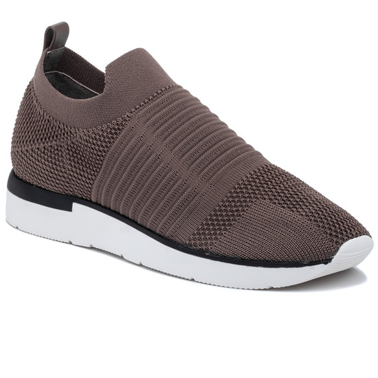 JSlides GREAT Taupe Knit