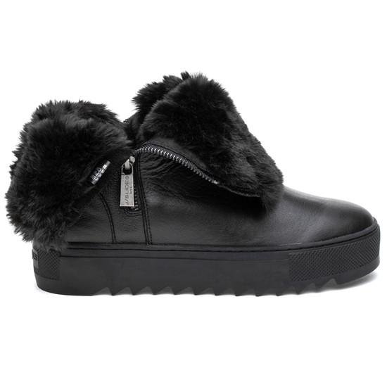 JSlides SELENE Black Leather