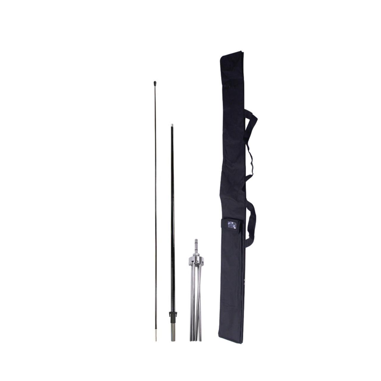 7 ft x base pole and bag