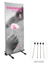 Orbus Banner Stands